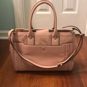 Marc Jacobs rose pebble leather tote brand new !